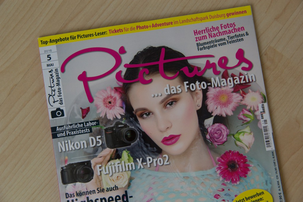 Pictures Magazin Cover