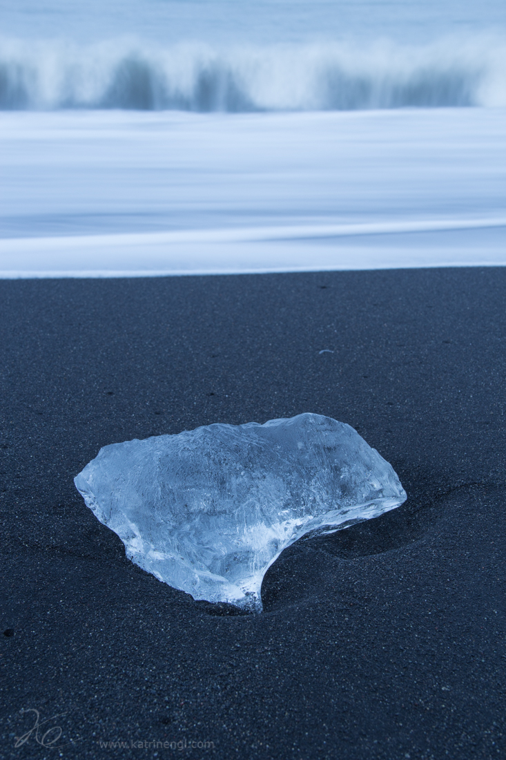 Ice and wave
