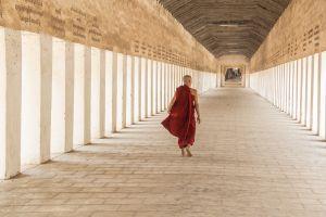 Monk in Bagan